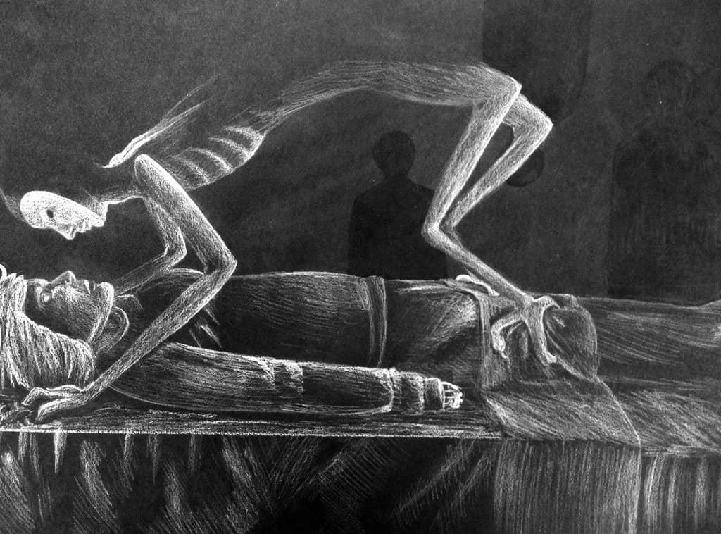 金縛り 幽体離脱