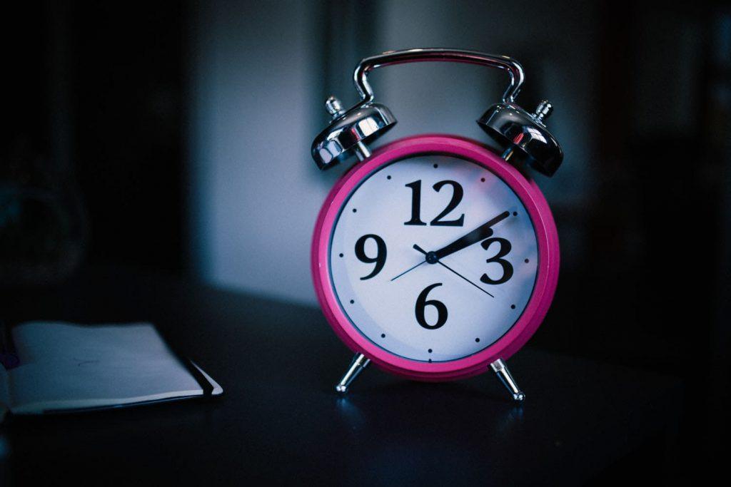 睡眠時間 7時間